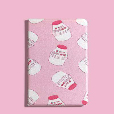 Contracted Milk Bottle Painted Apple iPad Cover Case gallery 5