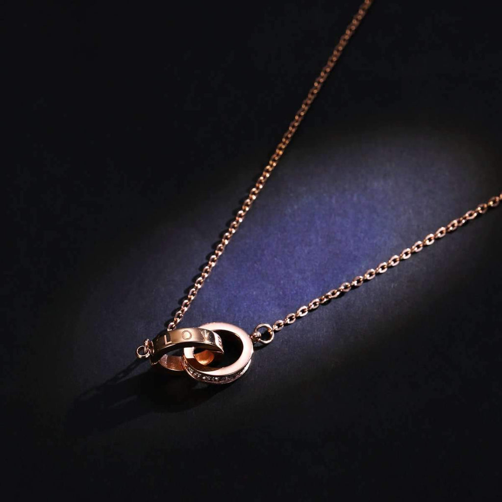 Friendship Sister Necklace Friends Eternity