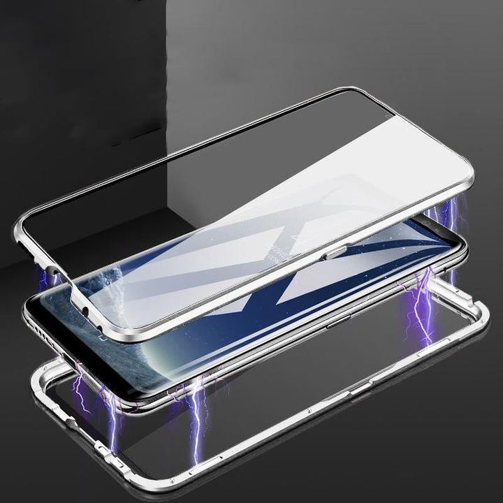 Ultra Slim Magnet Protective Phone Case For Samsung with Metal Frame gallery 2