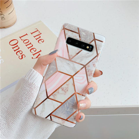 Geometry Marble Patch Phone Case for Samsung gallery 4