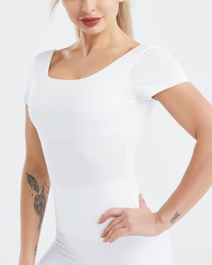 Cut Out Criss Cross Back Sports Top gallery 9