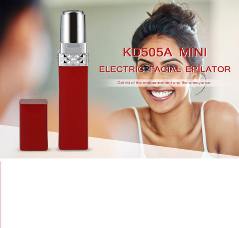Female Mini Rechargeable Electric Facial Epilator Portable Shaver gallery 6
