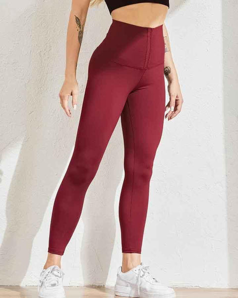 Body Shaping Waist Cincher Sports Leggings gallery 21