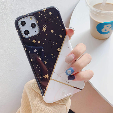 Multicolored Joint Marble Pattern Phone Case for Samsung gallery 5