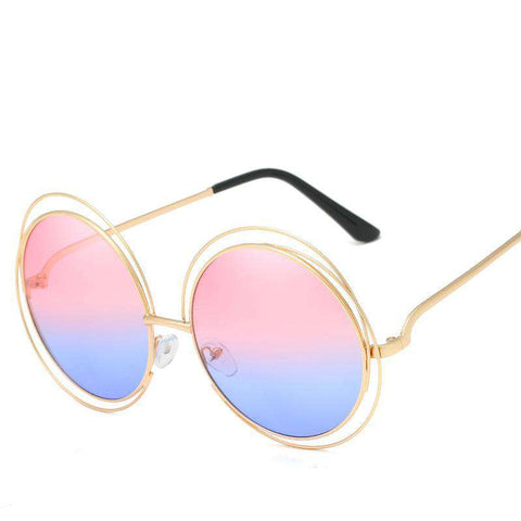 Ombre Double Frame Hollowed Sunglasses gallery 15