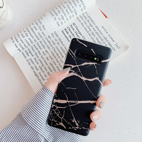 Matte Sand Marble Phone Case for Samsung gallery 2