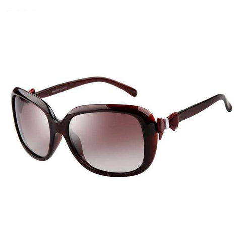 Vintage Fashion Design Polarized Lens with Bow Knot Side Sunglasses gallery 3