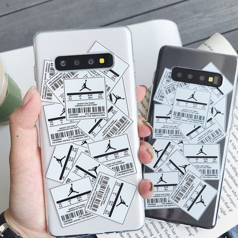 Random Labels Printed Phone Case For Samsung gallery 1