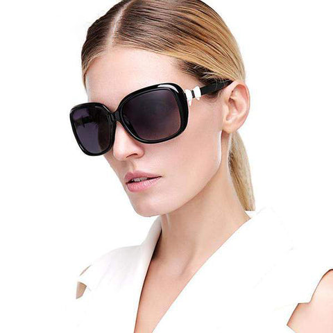 Vintage Fashion Design Polarized Lens with Bow Knot Side Sunglasses gallery 6