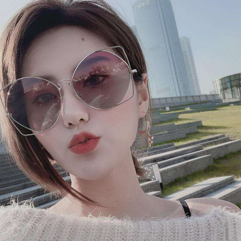 New Fashion Hollow Out Design Sunglasses gallery 1