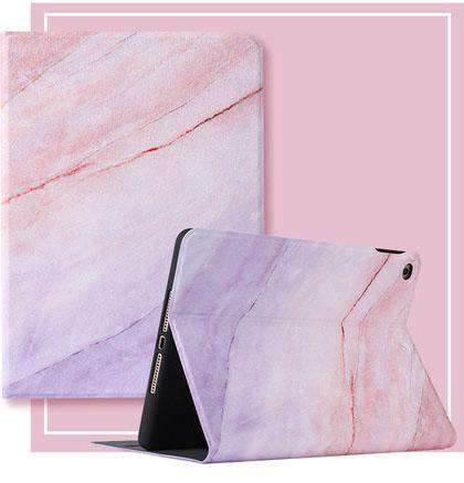 Literary Marble Pattern Magnetic Flip Apple iPad Cover gallery 4