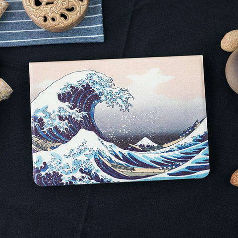 Waves Pattern Apple iPad Cover Case gallery 3