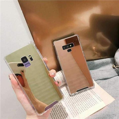 Arcylic Anti-Fall Mirror Phone Case for Samsung gallery 3