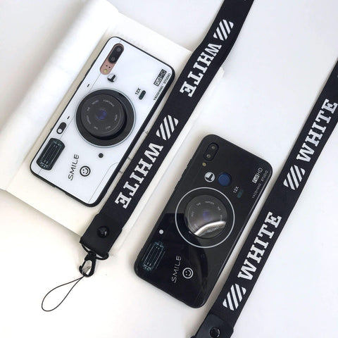 Chic Camera Design iPhone Case with Phone Holder and Hand Strap gallery 8