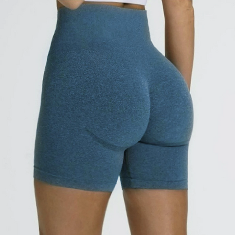 Flaming Deal - Beauty Contour Wide Waistband Sports Shorts gallery 3