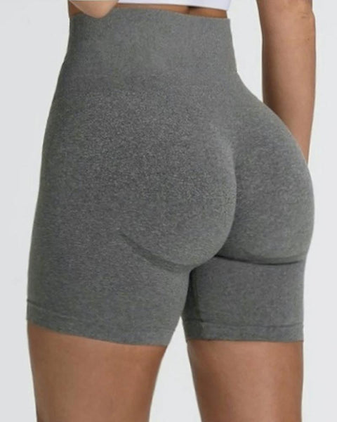 Beauty Contour Wide Waistband Sports Shorts gallery 1