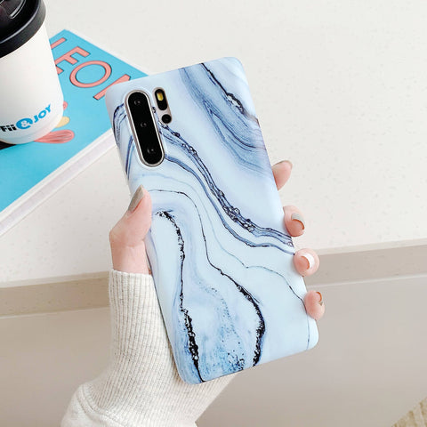Frosted Motif Marble Phone Case for Samsung gallery 5
