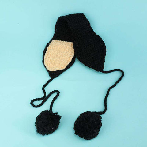 Women's Winter Cute Knitted Thick Ear Hat gallery 5
