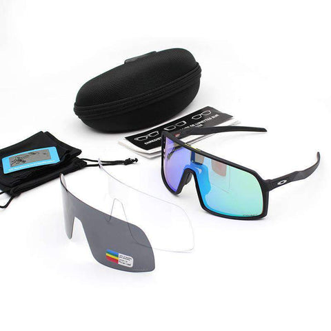 3 Pieces Set Polarized Lens Goggles For Cycling gallery 11