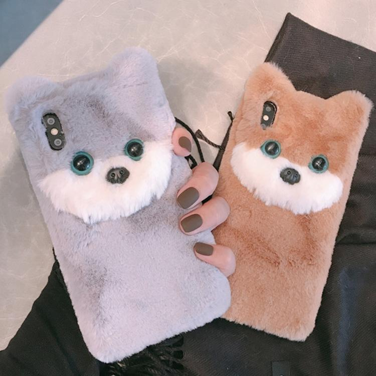 Cute Plush Stuffed Dogs Soft Phone Cases For All Iphone-Max/XR/IPhoneX/7P