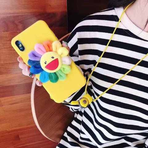 Yellow Laugh Sunflower Phone Case For Samsung gallery 2