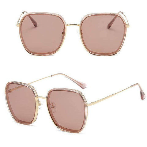 Classic Design Polarized With Wire Side Sunglasses gallery 6