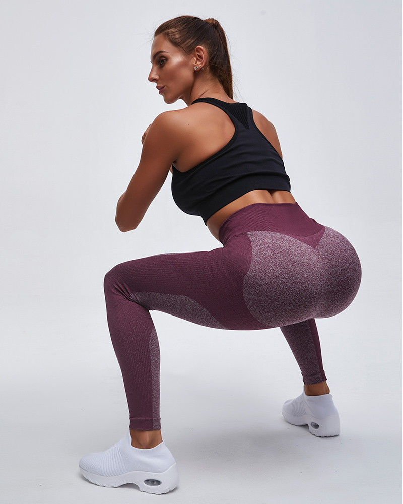 New Colors Sexy Squat-proof Seamless Compression Breathable Workout Legging
