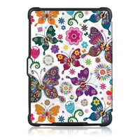 Literary Butterflies Painted Protective Cover Case For Amazon Kindle Paperwhite 1/2/3