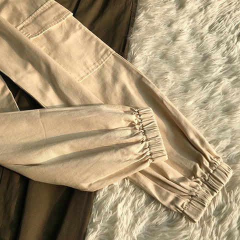 High Waist Straight Leg Cargo Trousers gallery 20