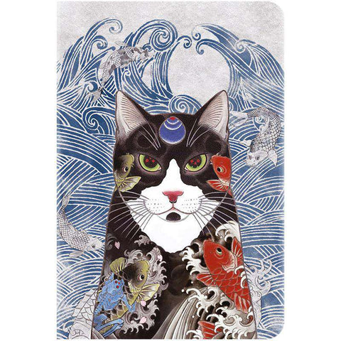 Unique Cat Pattern Apple iPad Cover Case gallery 1