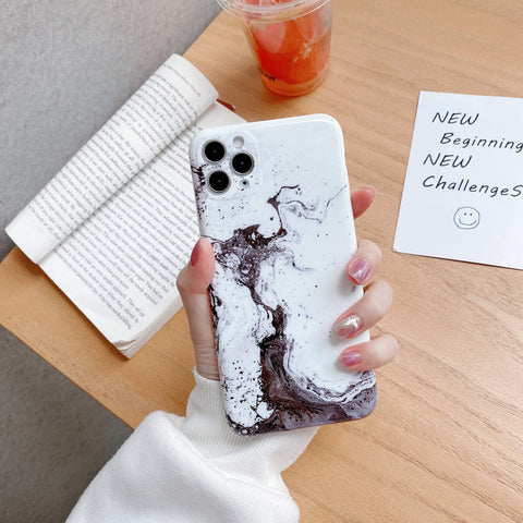 Simple and Elegant Marble Pattern iPhone Case