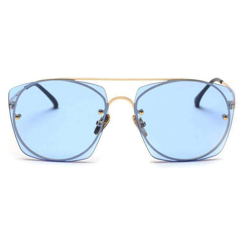 Chic Candy Color Square Shape Lens Street Fashion Sunglasses gallery 2