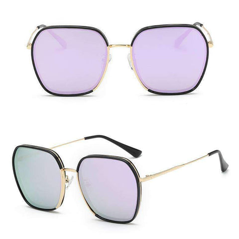 Classic Design Polarized With Wire Side Sunglasses gallery 5