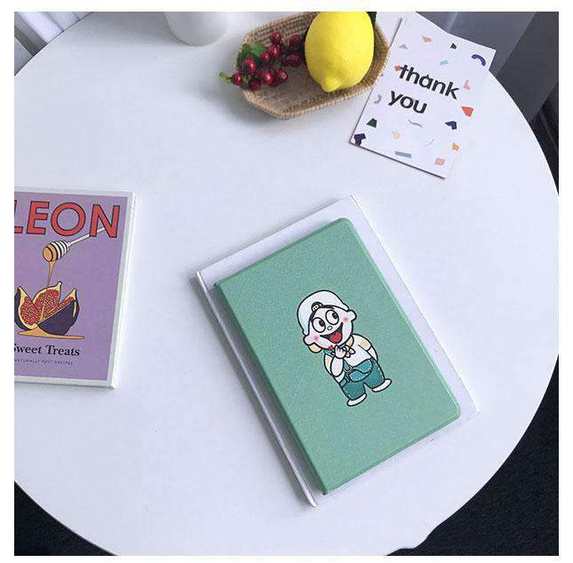 Creative Cartoon Pattern Anti-Fall Apple iPad Cover Case
