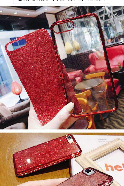 Diamond-encrusted Phone Case for Samsung gallery 5