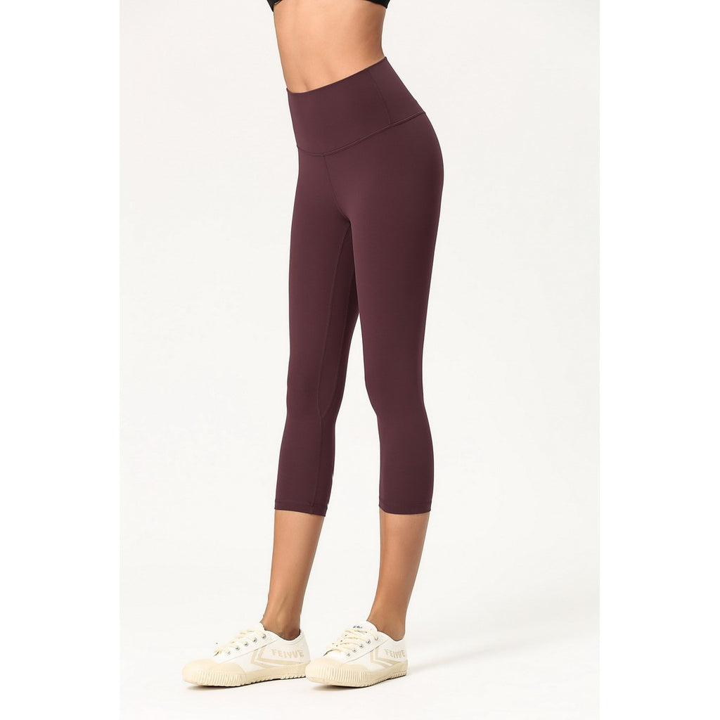 High Waist Ultra Soft Capri Leggings