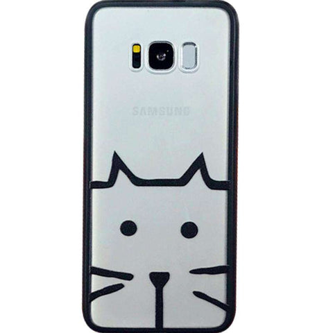 Samsung Frosted Cartoon Print Phone Case gallery 5