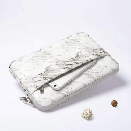 Contracted Marble Texture Carrying Apple iPad Cover Case gallery 2