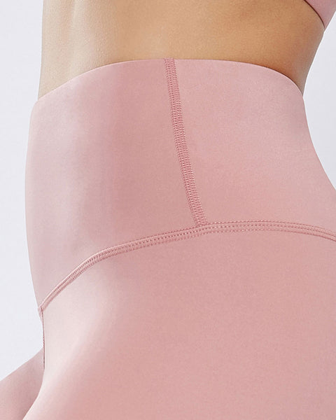 Hollow Out Scallop Detail Capris Sports Leggings gallery 9