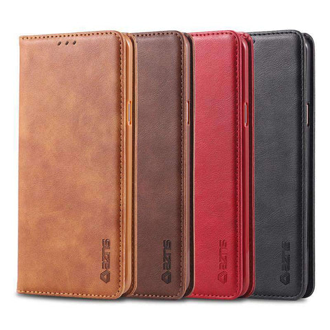 Contracted Business Leather Flip iPhone Case