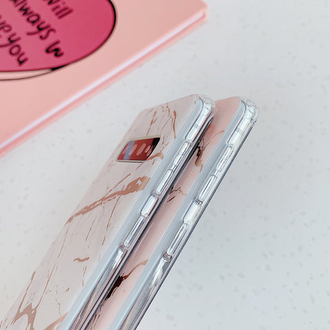 Matte Sand Marble Phone Case for Samsung gallery 10