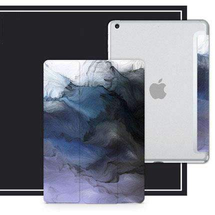Abstract Painting Magnetic Flip Apple iPad Cover Case