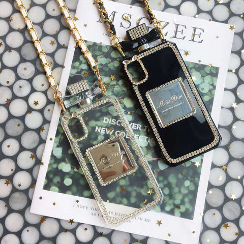 Luxury Perfume Design iPhone Case with Hand Strap gallery 5