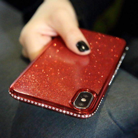 Diamond-encrusted Phone Case for Samsung gallery 1