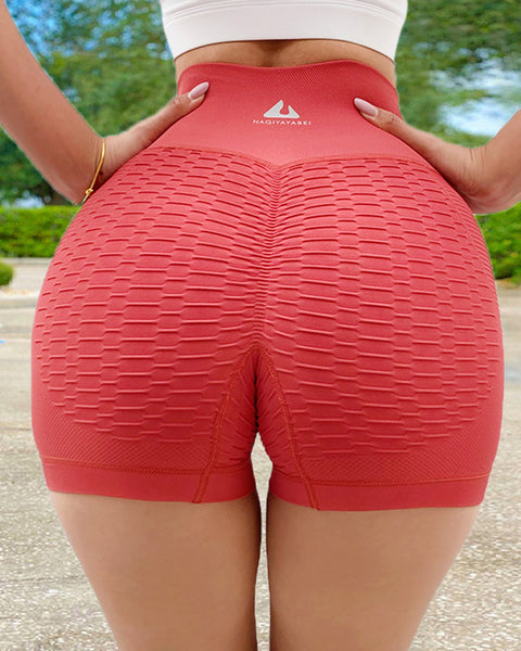 Wide Waistband Textured Sports Shorts gallery 12