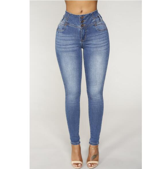 Light Wash Tall Plus Size Skinny Jeans