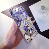 Luxury Laser Diamond-Shaped iPhone Case