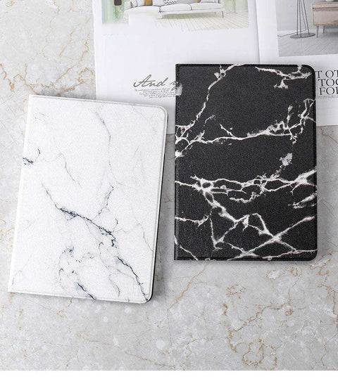 Vintage Marble Texture Stand Flip Tablet Case Cover for Apple iPad gallery 1