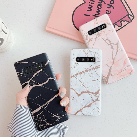 Matte Sand Marble Phone Case for Samsung gallery 7