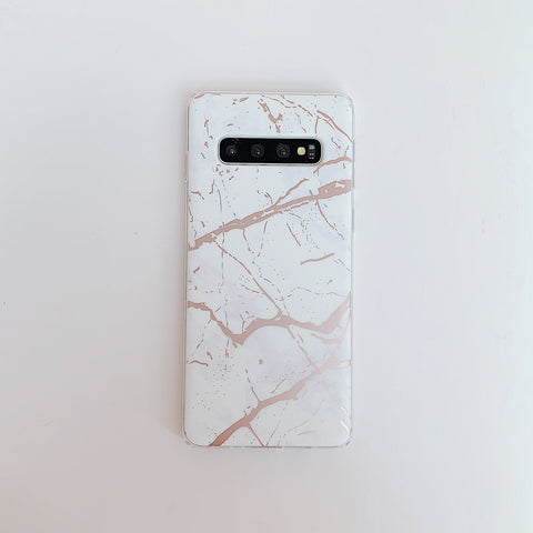 Matte Sand Marble Phone Case for Samsung gallery 6